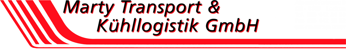 Logo - Marty Transport & Kühllogistik GmbH